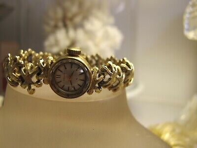Vintage Seiko Watch 14Crt Solid Gold Case And Band..
