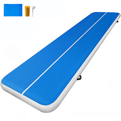33FT Air Track Airtrack Inflatable Floor Gymnastics Tumbling Mat Exercise Home