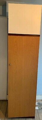 Vintage Retro G Plan Single Wardrobe 1960s with Gold Stamp