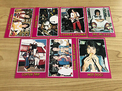 Scanlens 1976 - Bay City Rollers  - 7 Trading Card BULK LOT - NM - NO DOUBLES