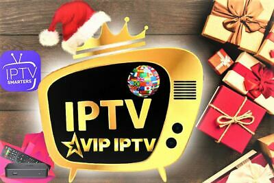 IP_TV Abonnement 12 mois SMART TV & Android & iOS & VLC & MAG