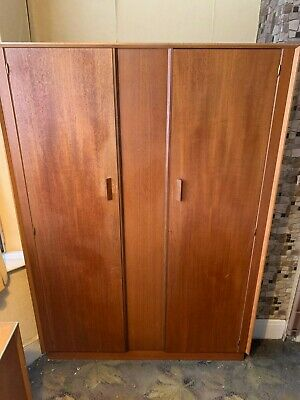 Teak G Plan antique retro wardrobe