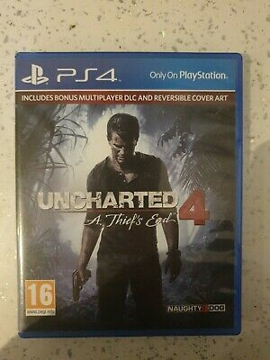Uncharted 4: A Thief's End - PS4 Exclusive. UK