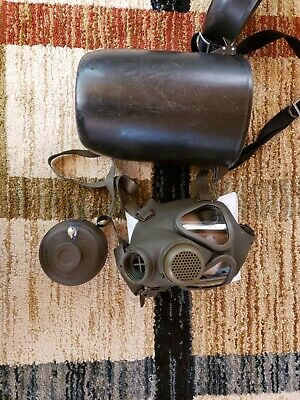 Military Gas Mask M65 German Drager Military & Police M65 Full-Face w/NBC Filter
