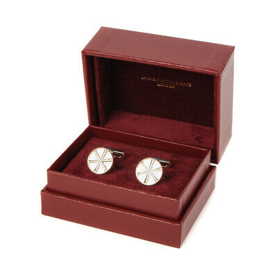 New James Purdey Silver Opening Cartridge Purdey Cufflinks with Shots
