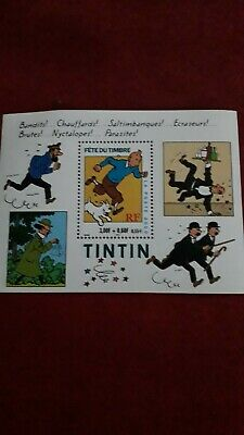 Annee 2000 Timbres Bloc 28 Fete Du Timbre Tintin Neuf