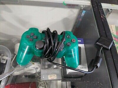 Sony PlayStation 2 PS2 Emerald Green Controller Analog SCPH-10010 Dual Shock