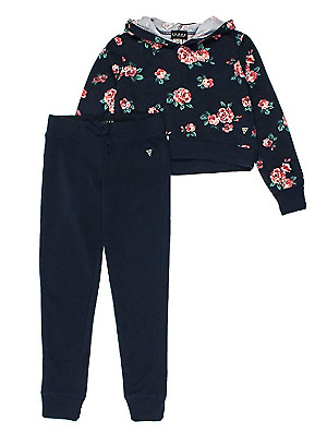 Guess Girls Active 2 Piece Set Floral Size With Color and Size Variations