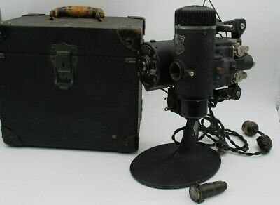 Vtg Bell & Howell Filmo Automatic Cine Projector 16mm Film For Parts or Repair