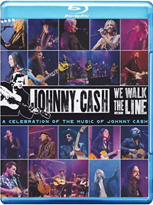 We Walk the Line: A Celebration of the Music of Johnny Cash Blu-ray NEUF