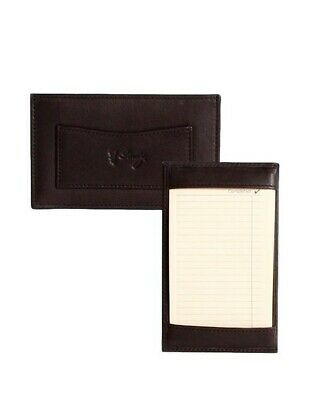 Scully Western Jotter Soft Plonge Leather Side Pocket Brown 1005-11