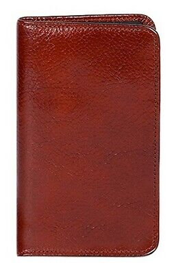 Scully Western Planner Italian Leather Pocket Mahogany 05_1008_06