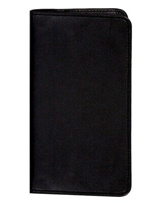Scully Western Planner Soft Plonge Leather Notebook Black 1008R-11