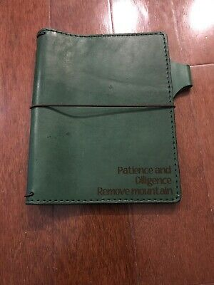 Chic Sparrow travelers notebook Travellers B6 TN Deluxe Tea House Matcha