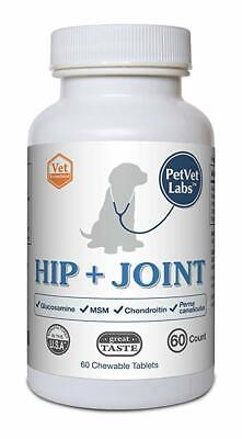 PetVet Labs Hip and Joint Care for Dogs Hip and Joint Mobility, Pain, Chewable