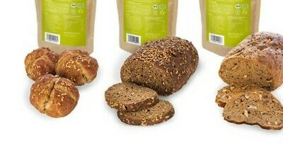 1x Backmischung Brot Brötchen wenig Kohlenhydrate Low Carb Diabetes keto