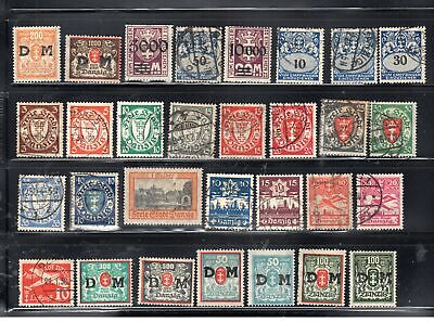 Germany Danzig  Stamps   Mint Hinged & Used  Lot 14299