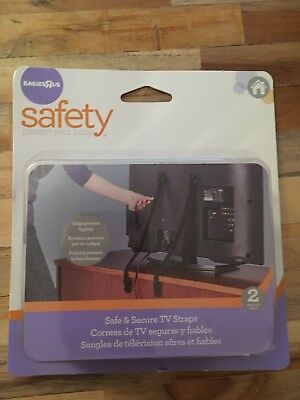 BabiesRus safe & secure tv straps (2 Pieces) Baby Proofing