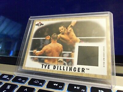 2017 Topps Wwe Heritage Ty Dillinger  Event-Used  Mat Relic 148/199