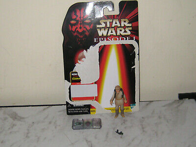 Star Wars - Episode 1-Anakin Skywalker (Tatooine) &Access  Figure & Chip Used