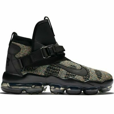 Nike Air Vapormax Premier Flyknit, Black/Multi-Color - Size 10 (AO3241-003)