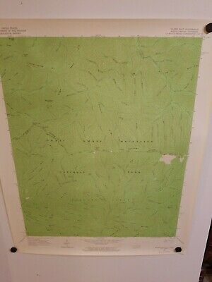 1964 SILERS BALD, NC-TENN Topographical Map Geological Survey US Interior 27""