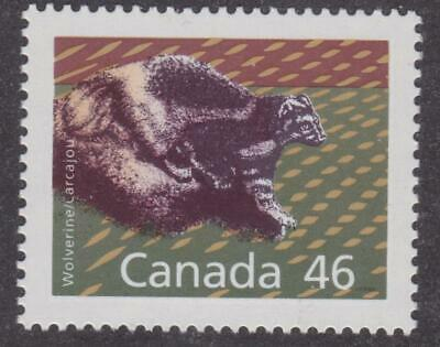 Canada 1990 #1172A Mammal Definitives - Wolverine - MNH