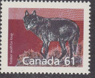 Canada 1988 #1175 Mammal Definitives - Timber Wolf - MNH - Value $1.50