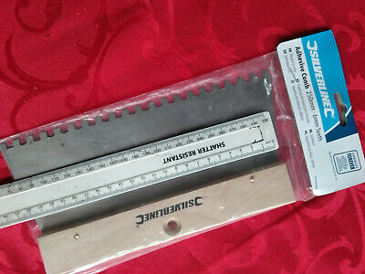 Adhesive Comb 6mm Teeth 250mm Long