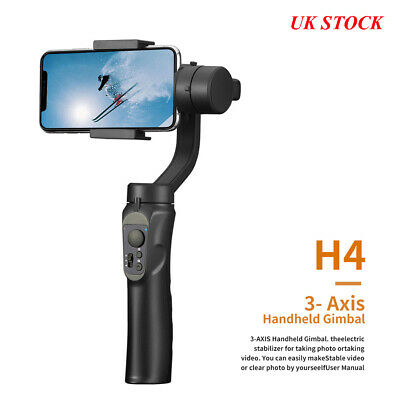 Smooth H4 Handheld 3-Axis Mobile Phone-Gimbal Stabilizer for iphone