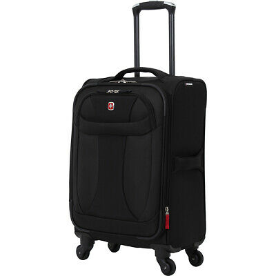 "SwissGear Travel Gear 7208 Lightweight 20"" Spinner Softside Carry-On NEW"