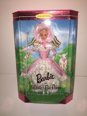 1999  Little Bo Peep Barbie Children's Collector Series #14960 NRFB New Mint