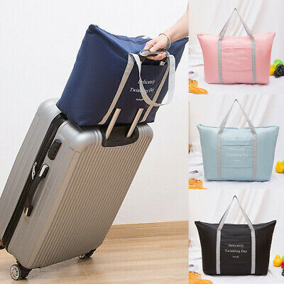 Waterpoof Foldable Portable Travel Luggage Baggage Storage Carry-On Duffle Bag