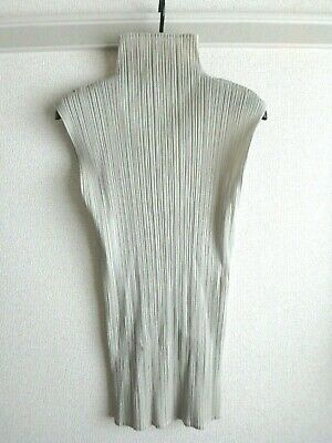 issey miyake pleats please top made in japan F/S size 3 tunic good