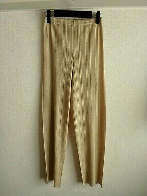 issey miyake pleats please pants size 4 made in japan F/S good