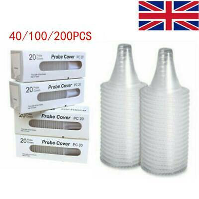 200 Replacement Lens For Braun Probe Cover Thermoscan Ear Thermometer Filter Cap