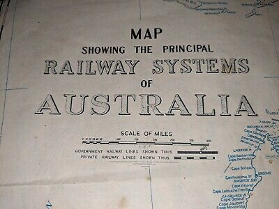 Australian railways and on other side map of NSW railways  dated 1957