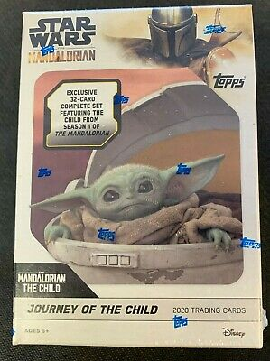 2020 Topps Star Wars The Mandalorian Box Complete Set Baby Yoda Pre-sell 4/8