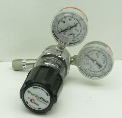 Concoa Purityplus 4223301-84-320 Pressure Regulator With Gauge 4000PSI