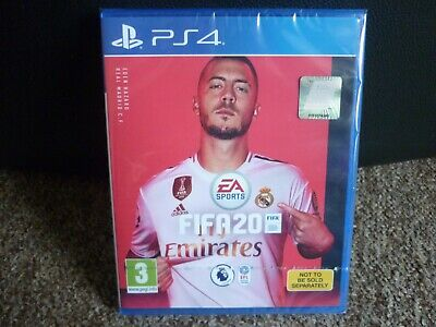 Fifa 20 PS4 Game, New & Sealed, With Digital Content,