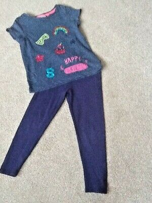 Girls leggings Age 5 years and a tea shirt from Next age 5 years