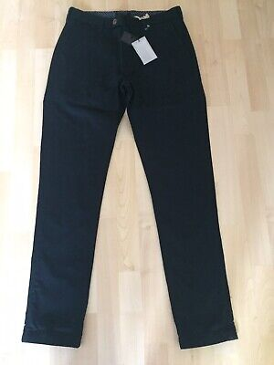 Mens BNWT Ted Baker Chaade Classic Fit Navy Chino Trousers Size 30R RRP £85