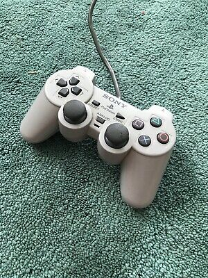 OFFICIAL SONY PLAYSTATION PS1 GREY Analog Controller SCPH-1200 IN GWC  GAMEPAD