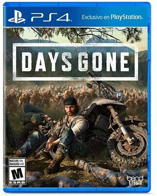 Days Gone (Playstation 4, 2019) Spanish cover