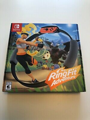 Ring Fit Adventure *New Never Used* (Nintendo Switch, 2019) - Standard Version
