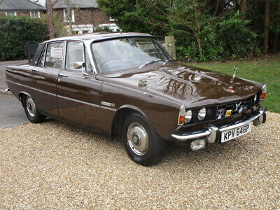 1975 Rover P6 2200 Tc (Beautifully Presented Throughout)
