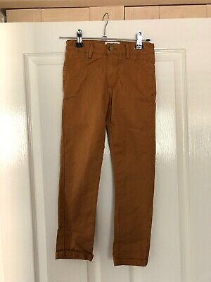 Boys Matalan Brown Chino Trousers Chinos Age 7 Years