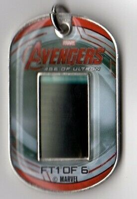 Avengers Age Of Ultron Film Cell Relic Cel Own A Piece Of Cinema History Endgame