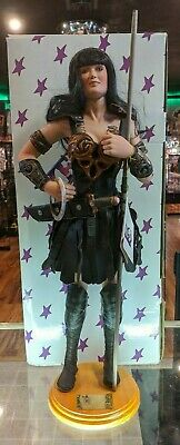 """George Harlan 24"""" Xena Warrior Princess Porcelain Doll Lucy Lawless Rare"""