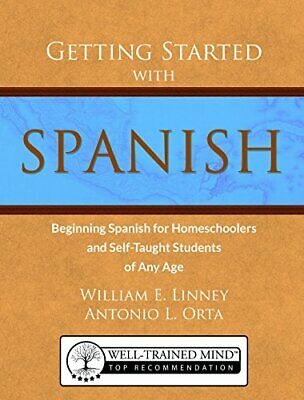 GETTING STARTED WITH SPANISH: BEGINNING SPANISH FOR By Antonio Luis Orta *Mint*